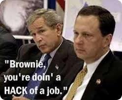 Katrina disaster and Bush