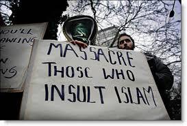 Muslim fanatics are violent and ignorant