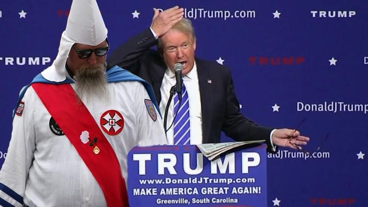 Bigots of America support Trump