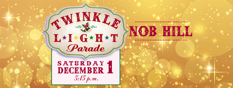Twinkle Light Parade 2018 in Nob Hill, Albuquerque