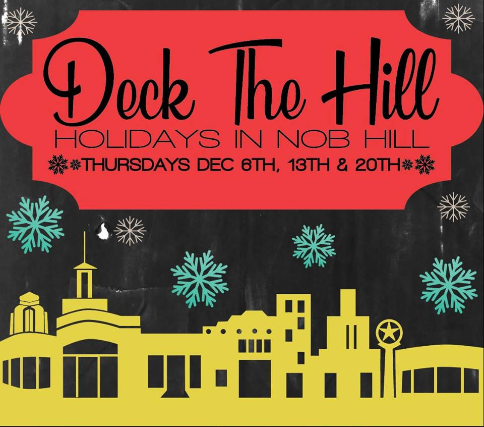 Celebrate the holidays in Nob Hill during Deck the Hill 2018
