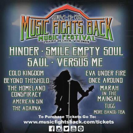 Music Fights Back Festival 2019 WI
