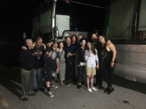 06069 - Post show with Saving Abel and Hinder