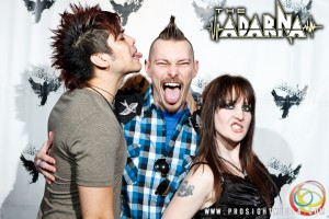 William, Andreka, and Tyler at The Adarna's CD Release Show 2012