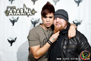 Steve and William at The Adarna's CD Release Show 2012