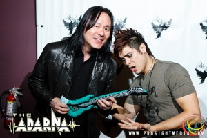 Henrizzle and William at The Adarna's CD Release Show 2012