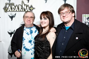 Mike, Ted, and Andreka at The Adarna's CD Release Show 2012