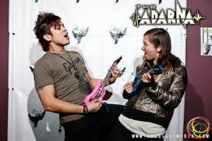 William and Anna at The Adarna's CD Release Show 2012