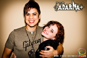 Lindsay and William at The Adarna's CD Release Show 2012