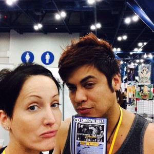 007 - Badges at Comicpalooza