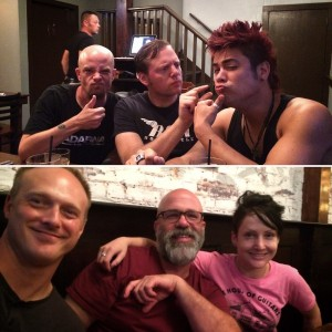 075 - Grabbing dinner with our buddy Craig McCallister