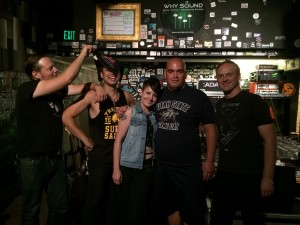 088 - Post show with Derrick at Why Sound, Logan UT