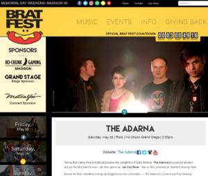 020 - The Adarna performing at Bratfest 2018