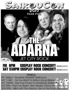181 - The Adarna at Saikoucon 2017 Fliers