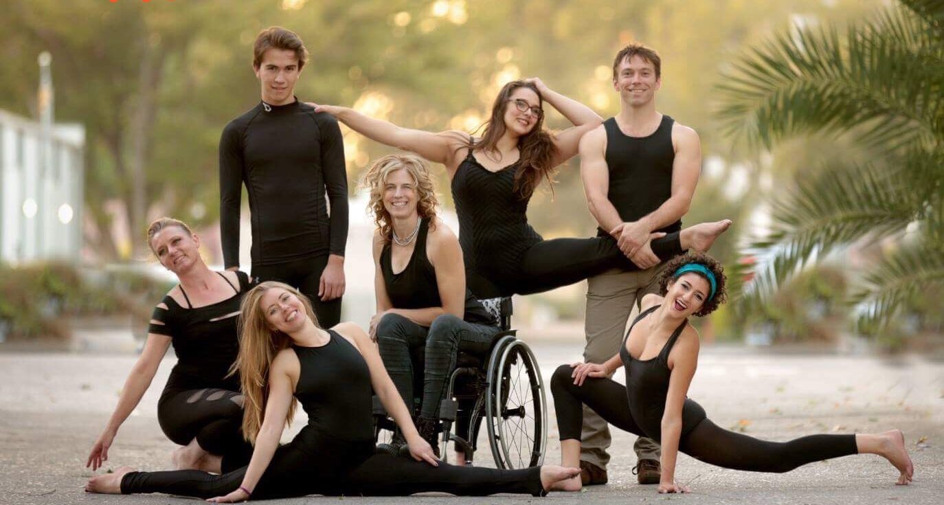 AirAligned aerial dance group