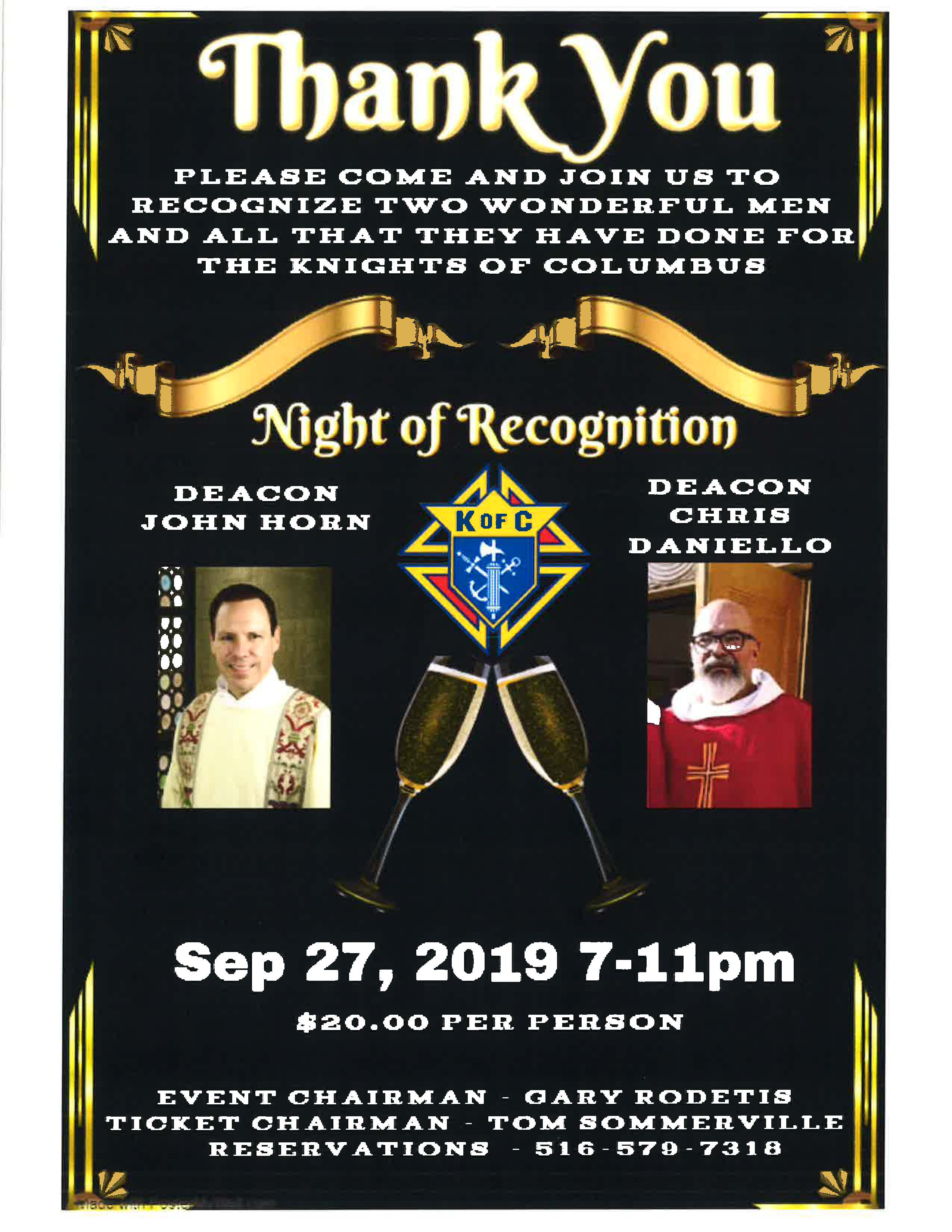 Night of Recognition 2019