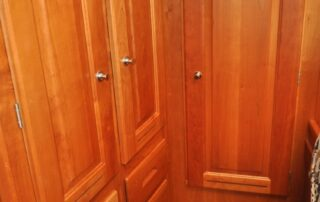 Master Stateroom Cabinetry