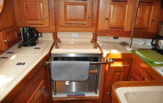 U-Shaped Galley Stove/Oven