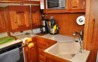 Galley Counter & Sink