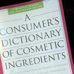 Cosmetics Ingredients Dictionary