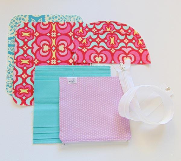 Zippered Necessary Clutch Wallet Tutorial Part 1- The Little Bird Designs
