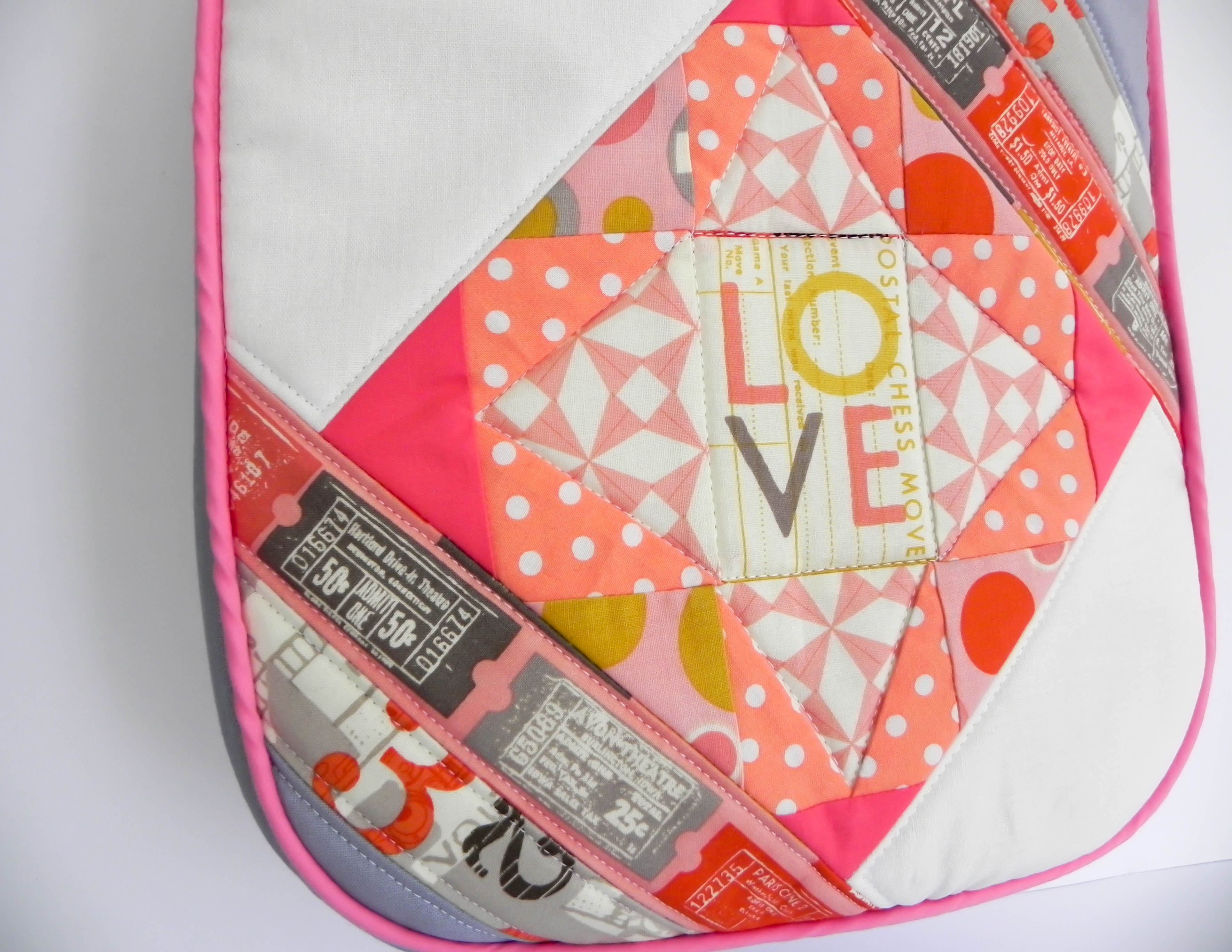 Feature Me Everyday Tote Paper Pieced Edition by The Little Bird Designs