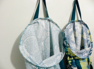 Stay Open Laundry Hamper by The Little Bird Designs