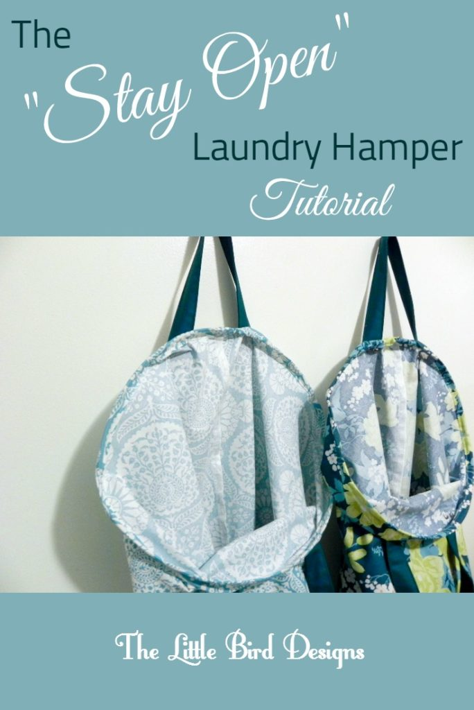 The Stay Open Laundry Hamper Tutorial