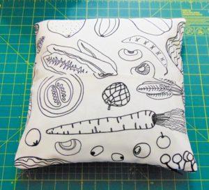 DIY Colour Me In Pillow - The Little Bird Designs