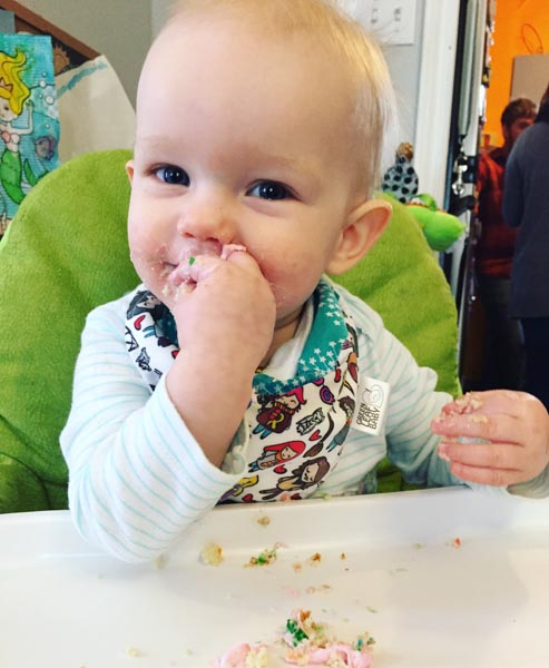PTBO Makes - Green Leaf Baby - The Little Bird Designs