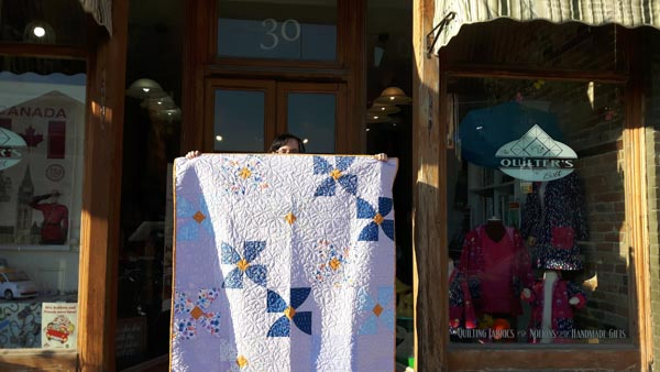 PTBO Makes - The Quilter's Bolt Part 1 - The Little Bird Designs
