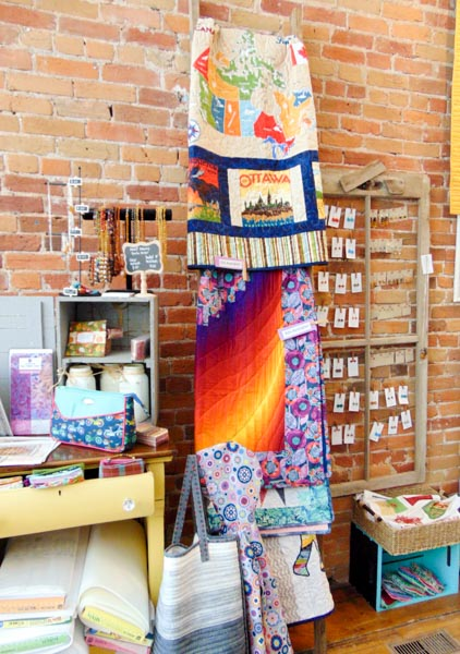 PTBO Makes - The Quilter's Bolt Part 2 - The Little Bird Designs