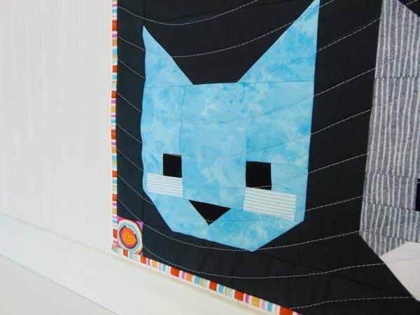 The Kittens, Family Mini Quilt Set - The Little Bird Designs