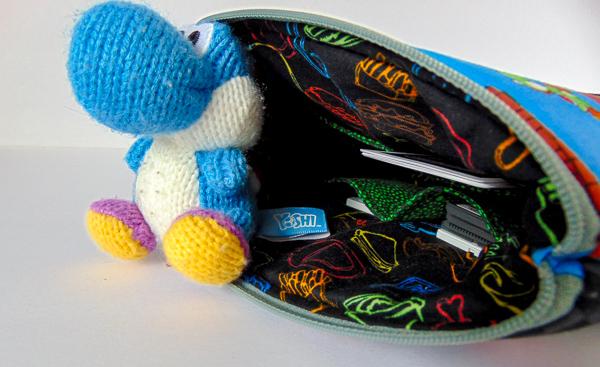 Mario Day Case - The Little Bird Designs - Inside Pockets
