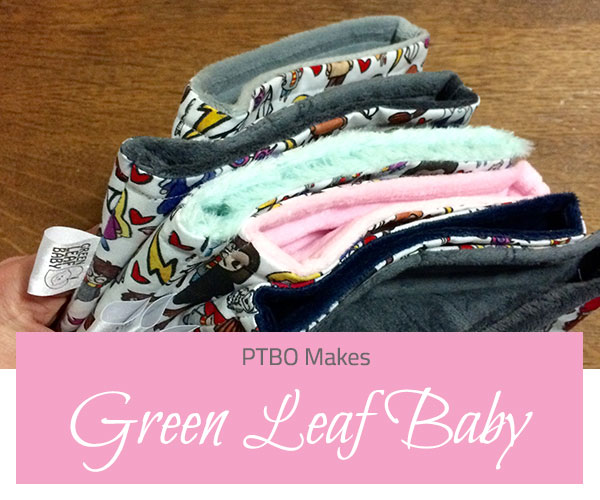 PTBO Makes - Green Leaf Baby - The Little Bird Designs feature