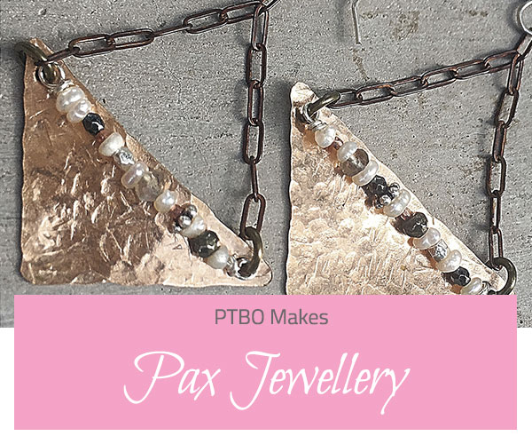 PTBO Makes - Pax Jewellery - The Little Bird Designs feature