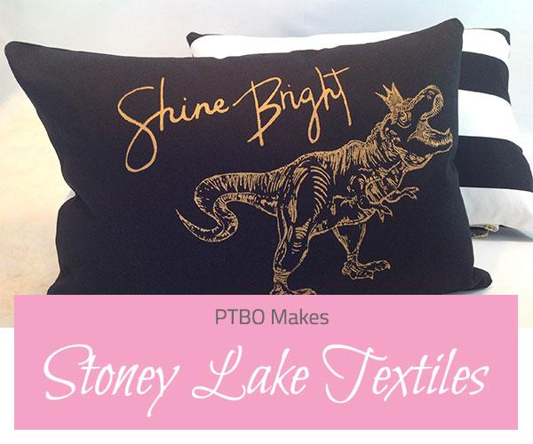 PTBO Makes - Stoney Lake Textiles- The Little Bird Designs feature