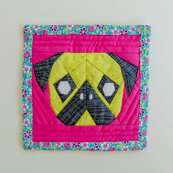 Mini Pug - Who Let the Pugs Out - The Little Bird Designs