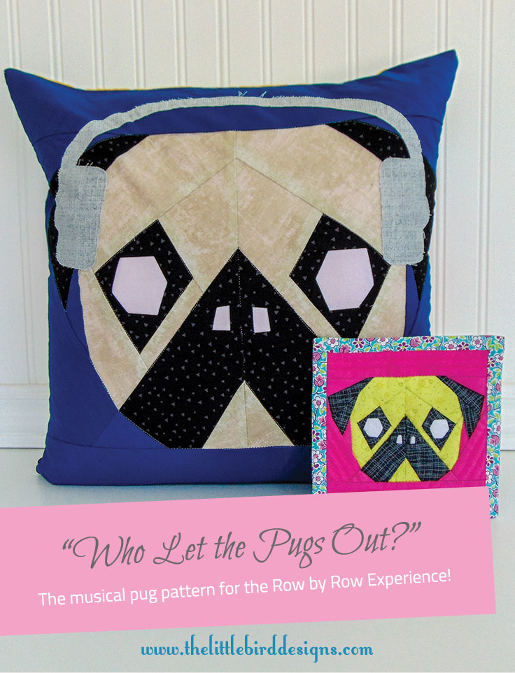Who Let the Pugs Out - The Little Bird Designs