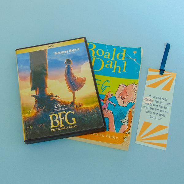 Movie night - Roald Dahl Day 2018 - The Little Bird Designs