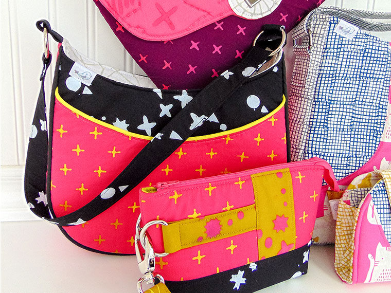 My Bags went to Quilt Market without Me! - Andrie Designs at Quilt Market - The Little Bird Designs Featured Image