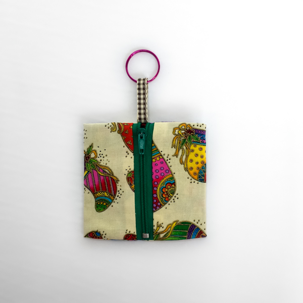 Stockings Keychain Pouch - The Little Bird Designs