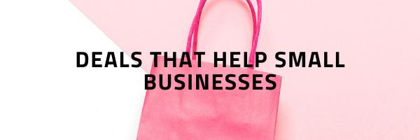 Deals that Help Small Businesses - Black Friday Deals - The Little Bird Designs