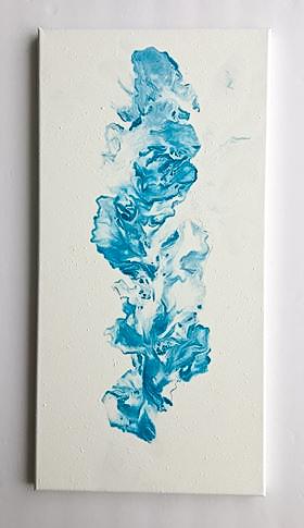 Blue Smoke - Cole Leptick Art - The Little Bird Designs
