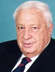 Crafty Ariel Sharon