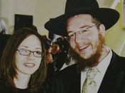 Rivka Holtzberg (28) and Rabbi Gavriel Holtzberg (29). May their memory be for a blessing.