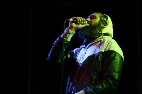 Matisyahu jumps on stage