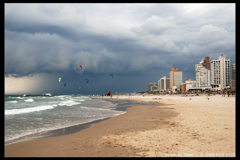 Tel Aviv Storm