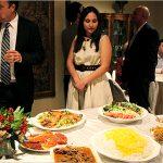 Maddahi's await food (Photo: Amy Dickerson, NYT)