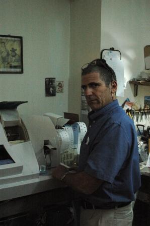 Dani Simckes at work